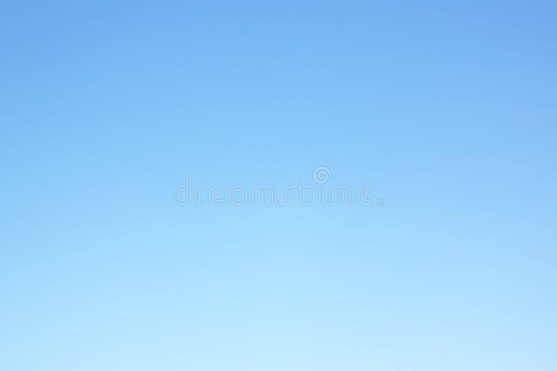 Lege Blauwe Hemel royalty-vrije stock fotografie