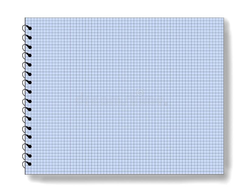 Lege blocnote stock illustratie