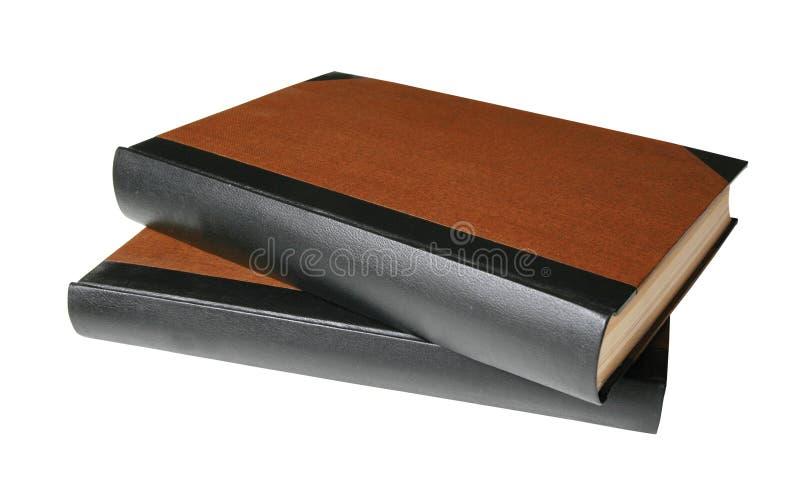 Lege boeken met weg stock afbeelding