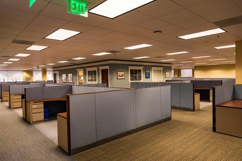 Lege bureauruimte stock foto