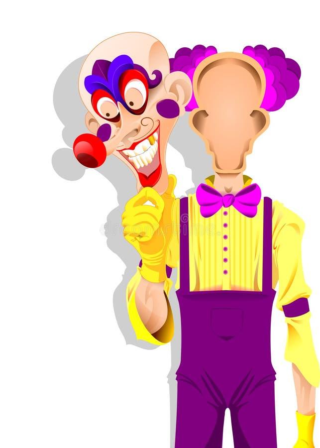 Lege Clown stock illustratie