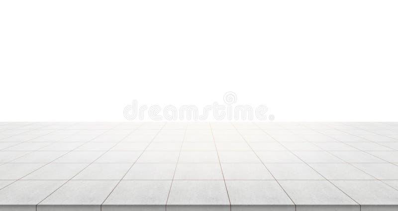 Lege concrete vloerbovenkant voor vertoning of monteringproduct royalty-vrije stock afbeeldingen