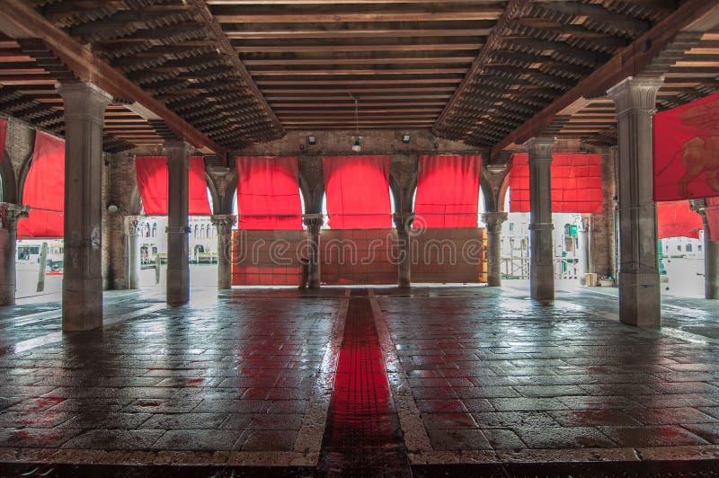 Lege de marktplaats van Venetië royalty-vrije stock afbeelding