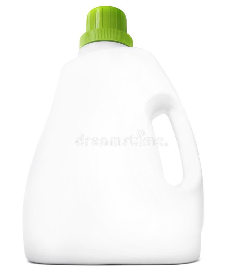 Lege detergent fles stock foto's