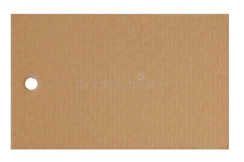 Lege document markering stock afbeelding