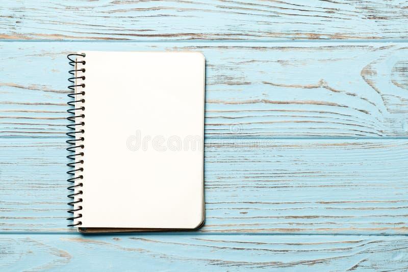 Lege document notitieboekjeruimte voor tekst stock foto's