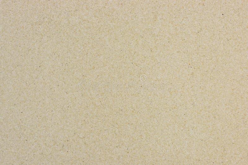 Lege Fijne overzeese zandtextuur en achtergrond stock fotografie