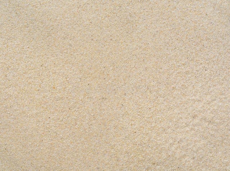 Lege Fijne overzeese zandtextuur en achtergrond stock foto