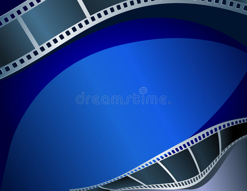 Lege filmstrook stock illustratie