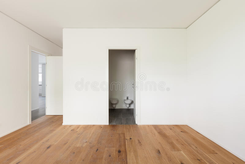 Lege flat, ruimte stock afbeeldingen