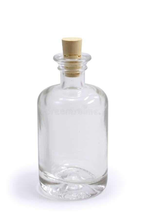 Lege fles royalty-vrije stock afbeelding