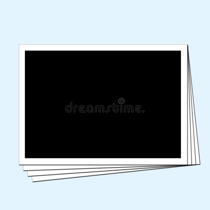 Lege foto's stock illustratie