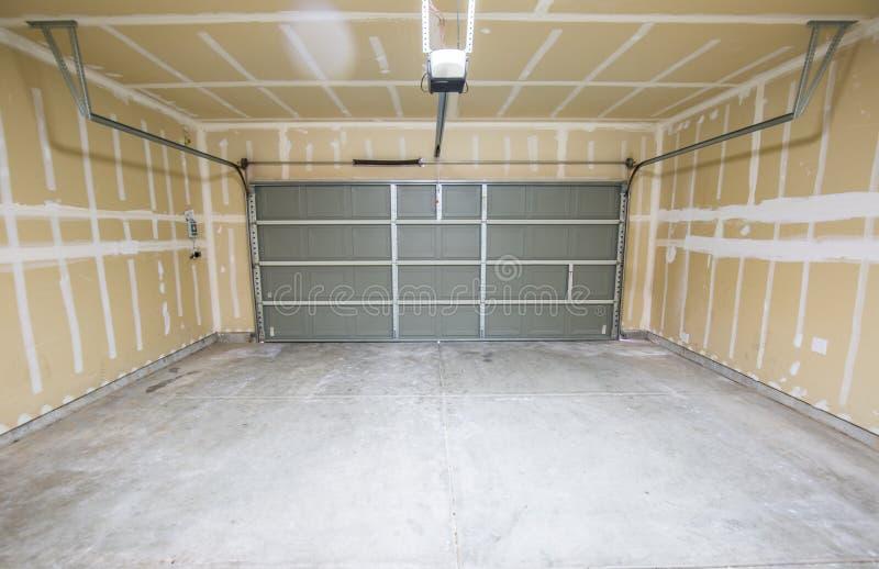 Lege garage royalty-vrije stock foto