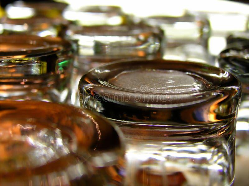 Lege Glazen Stock Afbeelding