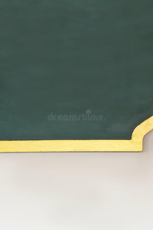 Lege groene bordtextuur royalty-vrije stock afbeeldingen