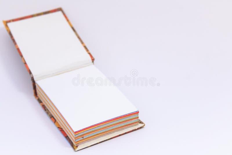 Lege het exemplaarruimte van het blocnotebriefpapier royalty-vrije stock foto