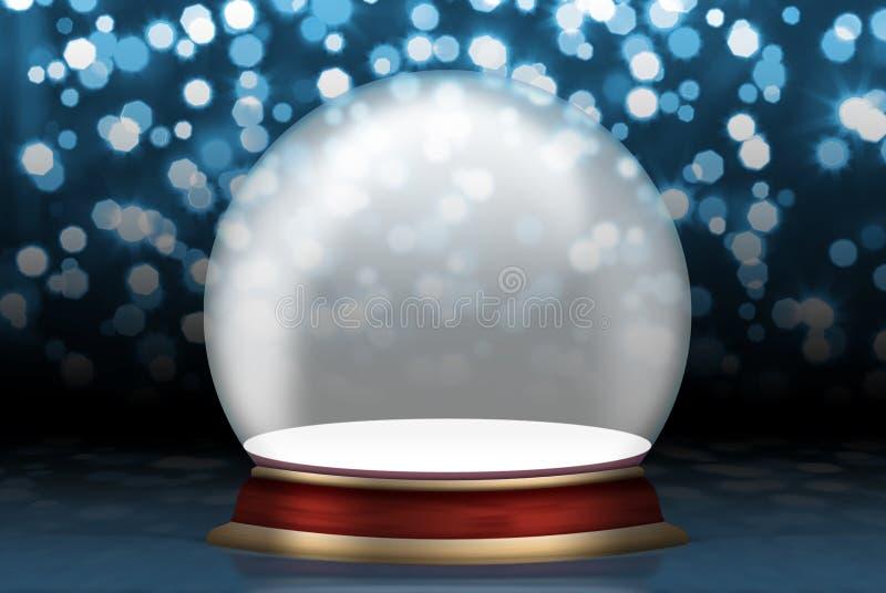 Lege het gebied van het glas stock illustratie