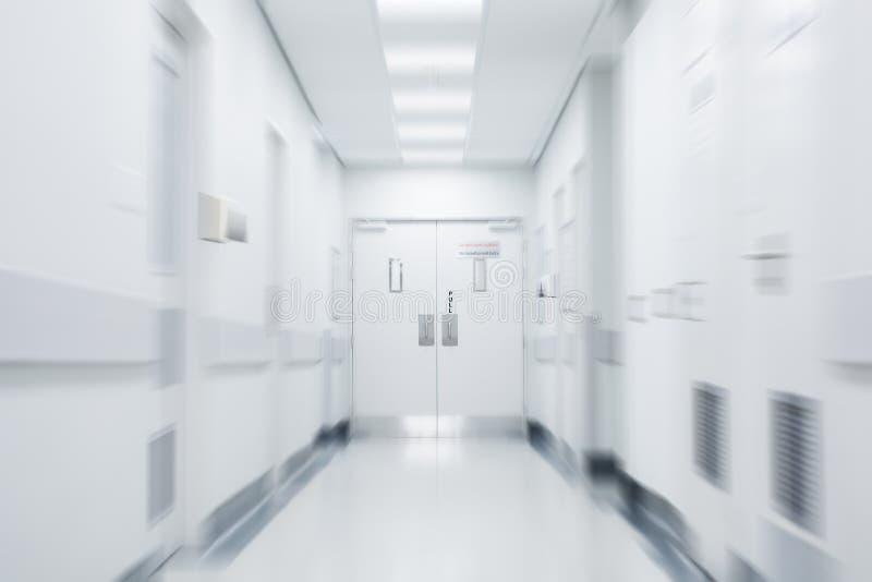 Lege het ziekenhuisgang stock foto