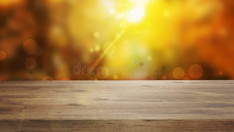 Lege houten deklijst royalty-vrije stock afbeelding