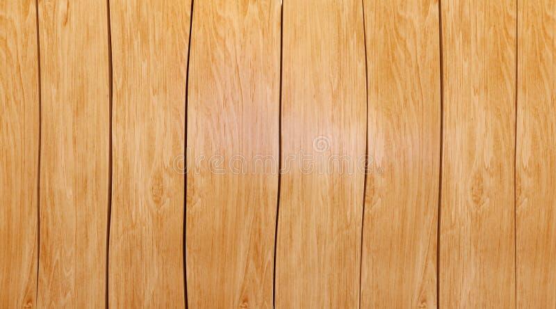 Lege houten die lijstbovenkant op witte achtergrond wordt geïsoleerd, stock fotografie