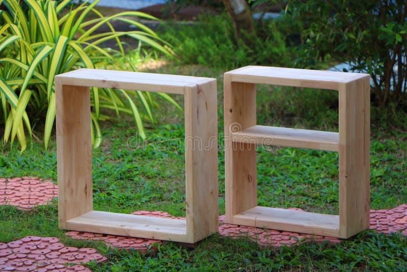 Lege houten planken stock afbeeldingen