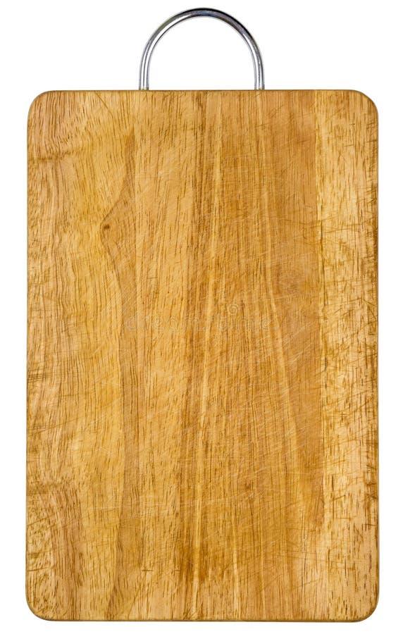 Lege houtvezelplaat geïsoleerdeA het knippen inbegrepen weg stock afbeelding