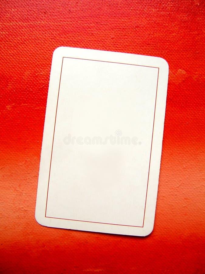 Lege kaart: voeg uw tekst toe:) royalty-vrije stock afbeelding