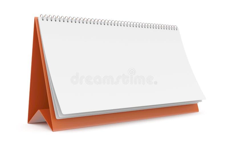 Lege kalender vector illustratie