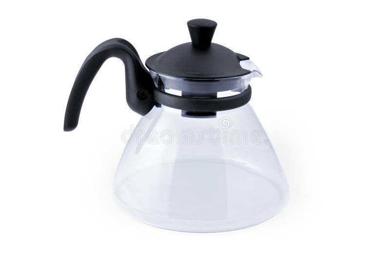 Lege koffiepot stock fotografie