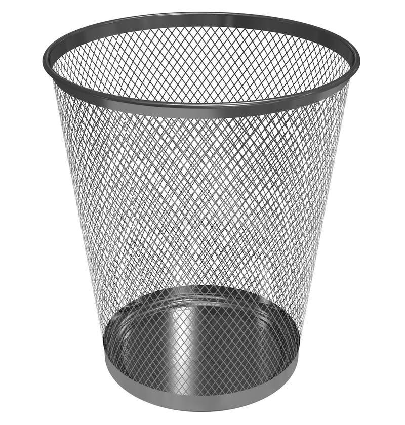 Lege kringloopbak vector illustratie