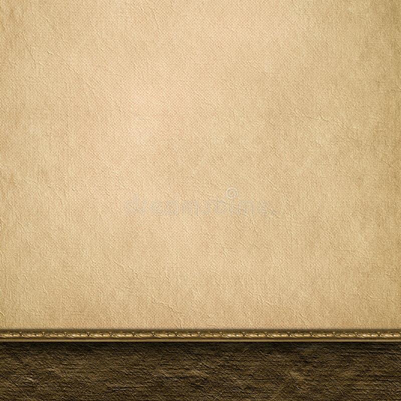 Lege met de hand gemaakte document bladachtergrond royalty-vrije illustratie