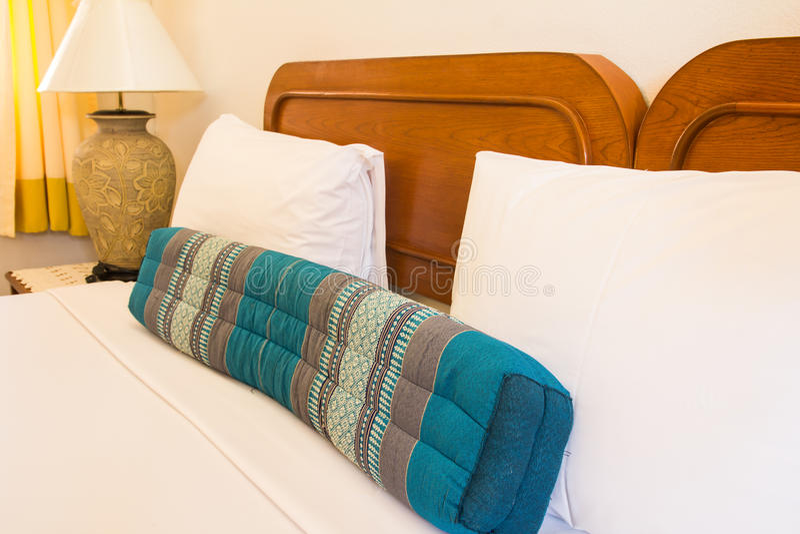 Lege moderne slaapkamer royalty-vrije stock foto