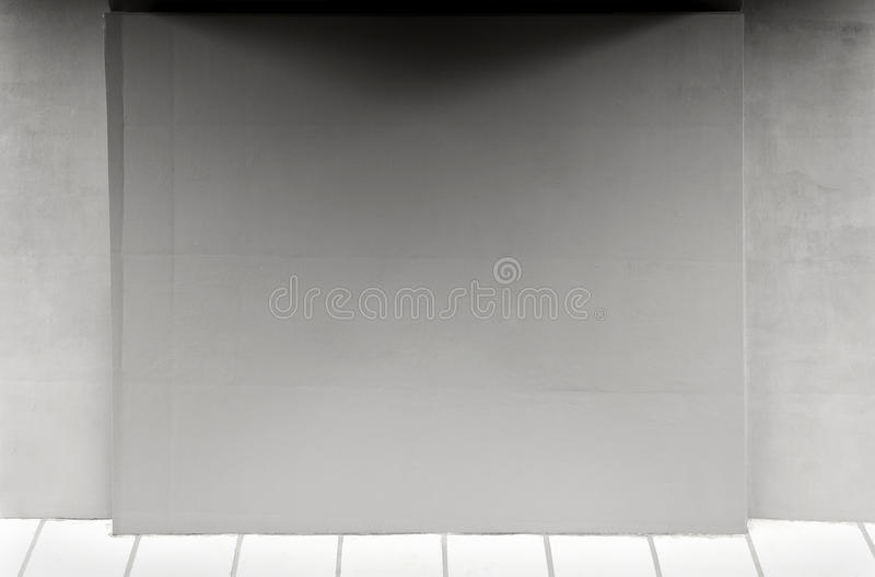 Lege muur royalty-vrije stock foto's