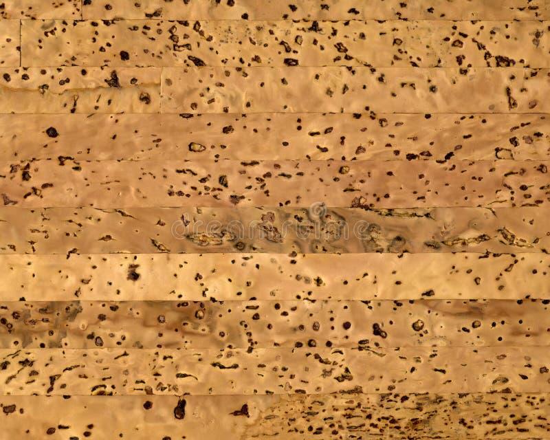 Lege natuurlijke cork textuur royalty-vrije stock afbeelding