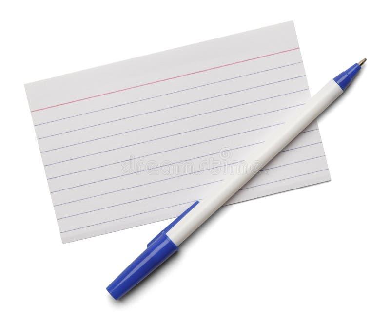 De Pen van de systeemkaart stock foto's