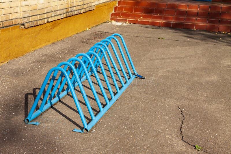 Lege plaats voor een parkeren van fietsen royalty-vrije stock foto's