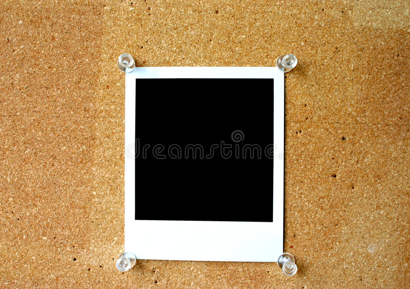 Lege polaroid #2 royalty-vrije stock afbeeldingen