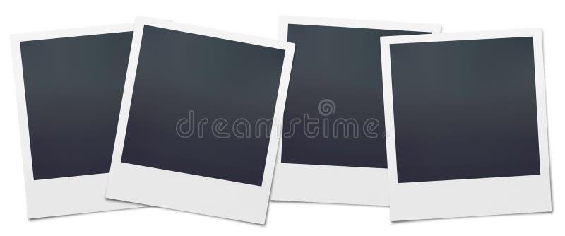 Lege Polaroidcamera's stock afbeeldingen