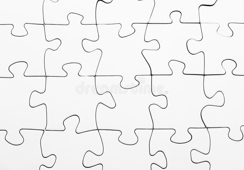 lege puzzel volledige oplossing stock afbeeldingen