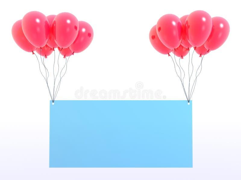 Lege raad vector illustratie