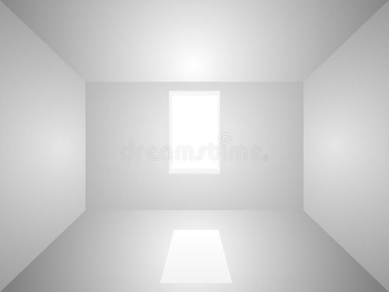 Lege ruimte stock illustratie