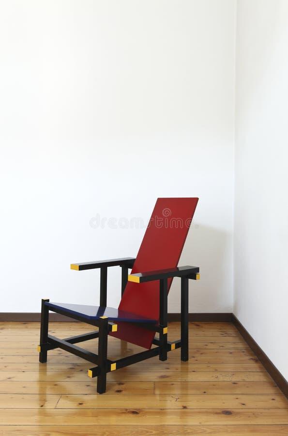 Lege ruimte met stoel royalty-vrije stock afbeeldingen