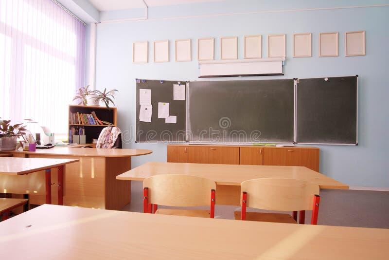 Lege schoolklasse stock fotografie