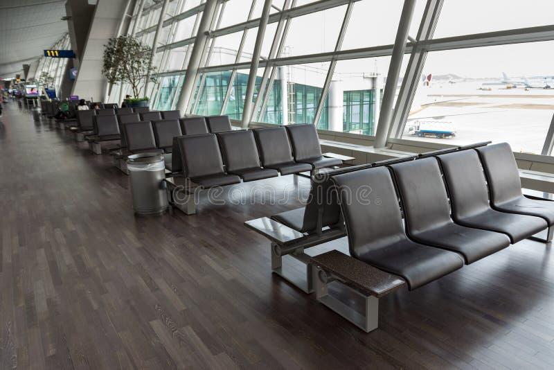 Lege stoel voor passagiers royalty-vrije stock foto