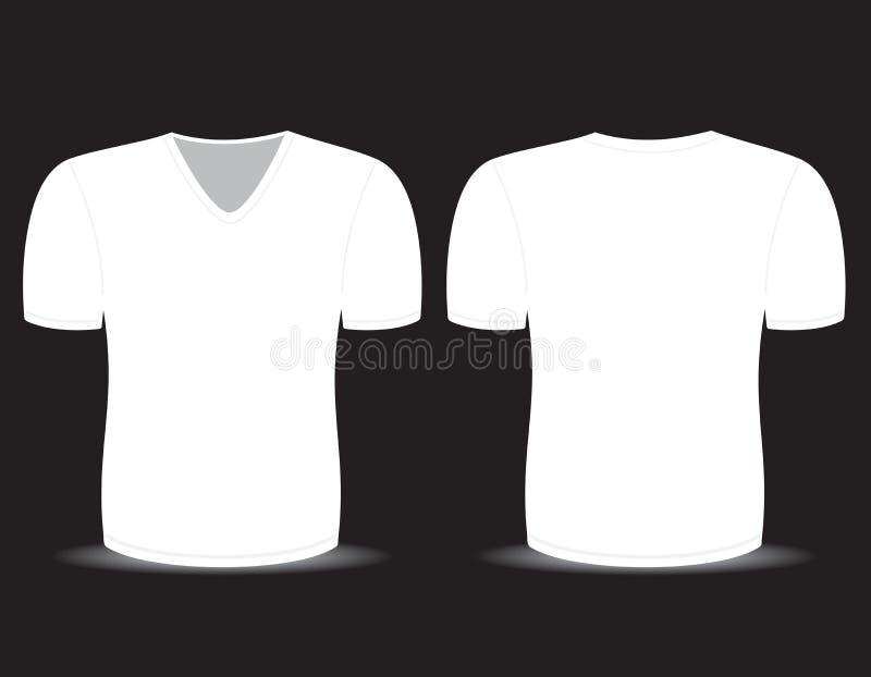 Lege T-shirt royalty-vrije illustratie