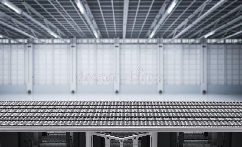 Lege transportband vector illustratie