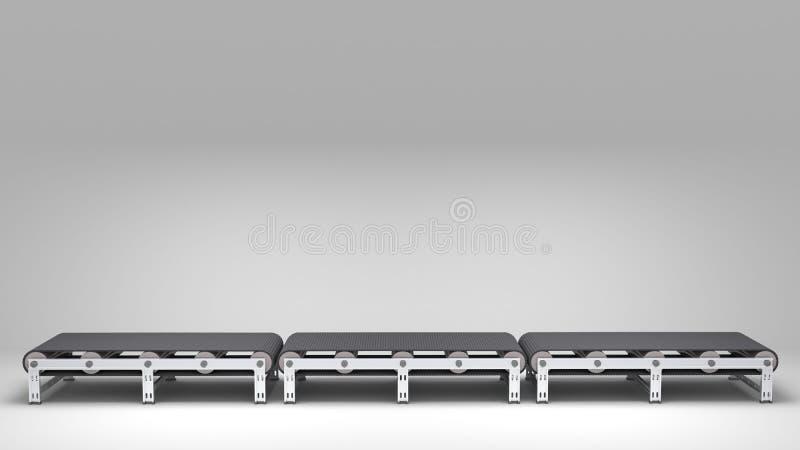Lege transportband royalty-vrije illustratie