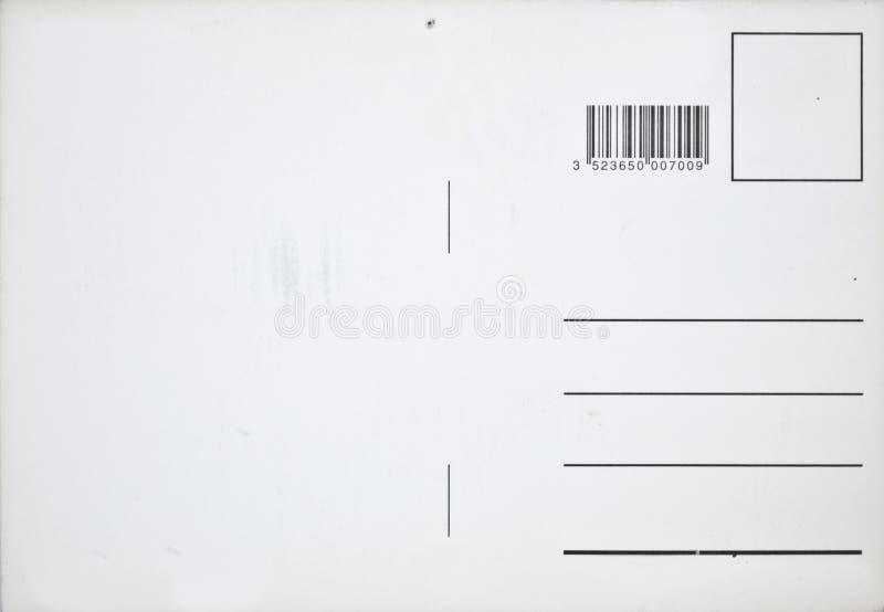 Lege uitstekende briefkaart royalty-vrije stock afbeeldingen