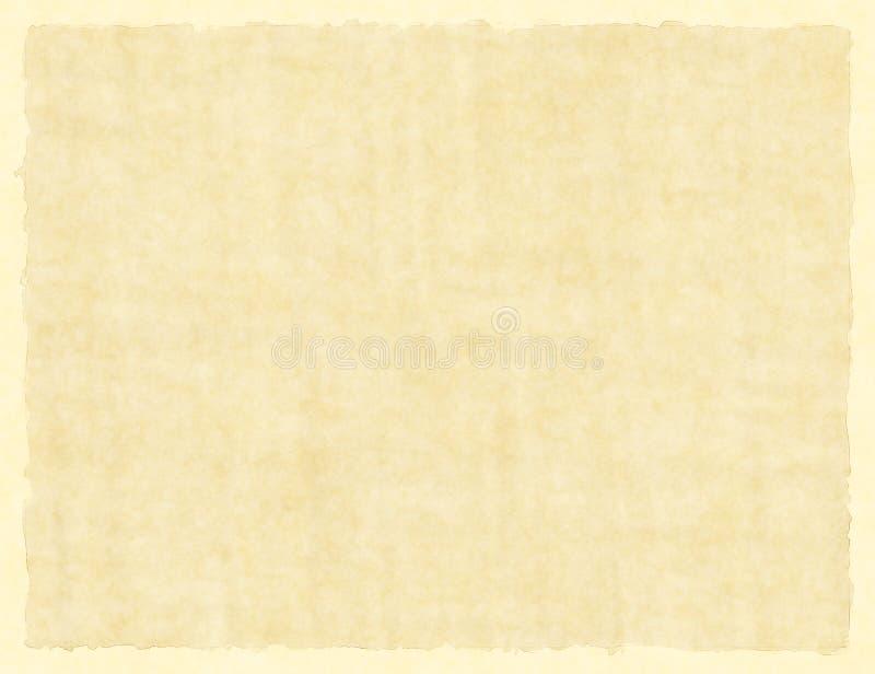 Lege Uitstekende Document Textuur met Kader vector illustratie