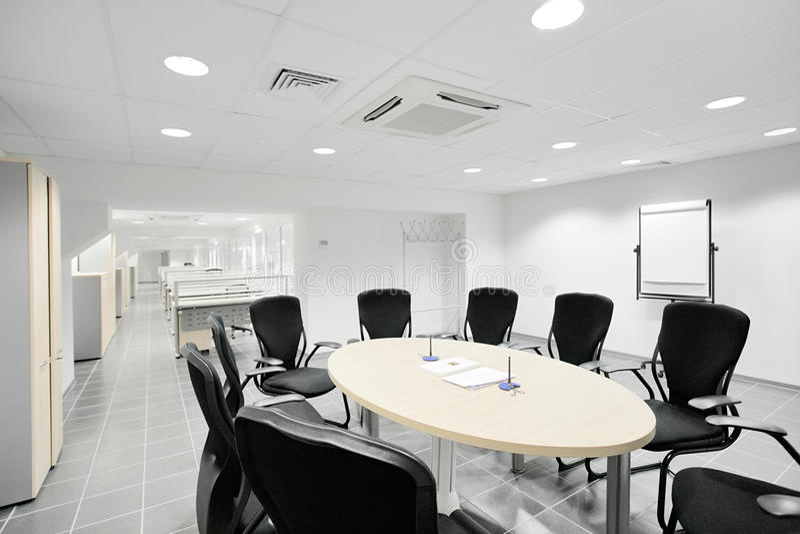Lege vergaderingsruimte